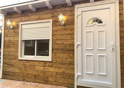 Casetas de madera habitables