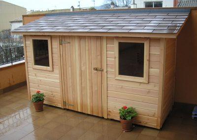 Casetas de madera trastero