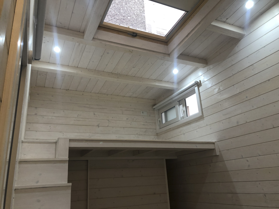 Casa de madera con altillo en madrid casetas de madera - Casetas de madera madrid ...